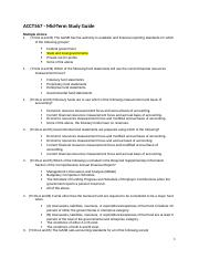ACCT567_Mid-term Study Guide