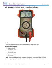 2.2.4.4 Lab - Using a Multimeter and a Power Supply Tester (1).pdf