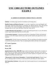 Lecture Outlines Exam #3