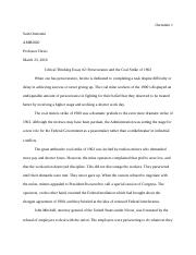Critical Thinking Essay #2 (AMH2020).docx