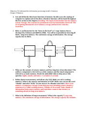 Objective 09 Understand the information processing model.docx