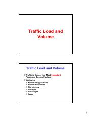 3 AASHTO Traffic and Reliability