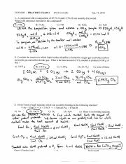 Sample Midterm Solutions CHEM 6B Winter 2014