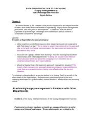CHAPTER 3 - SUPPLY MANAGEMENT  AN ORGANIZATION SPANNING ACTIVITY.docx