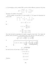 Differential Equations Lecture Work Solutions 324