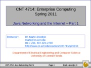 java networking - part 1