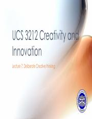 UCS 3212 Creativity & Innovation_Lecture07.pdf