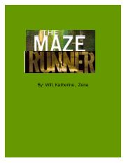 The Maze runner by;will, zena, and katherine.doc