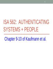 ISA562-Ch9-10.ppt
