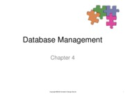 Chapter4-DatabaseManagement