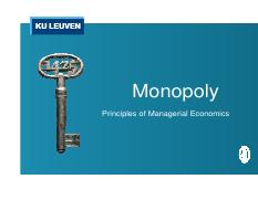 8 - Managerial - Monopoly 2016-2017