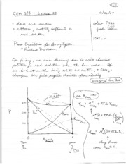 Lecture notes 22
