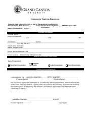 NRS-427V-RS-CommunityTeachingExperienceForm  MS. DAWSONS PART PART.doc