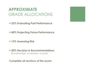 Exam Grade Allocations