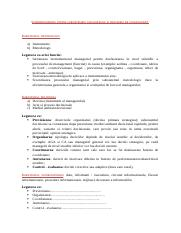 Corelatii importante in management