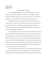 english 12 great gatsby final2
