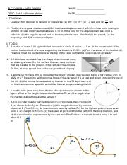 IB PHYSICS 6.1 Circular Motion