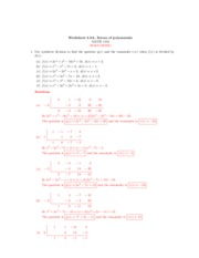 synthetic division worksheet with answers pdf how to divide polynomials using synthetic. Black Bedroom Furniture Sets. Home Design Ideas