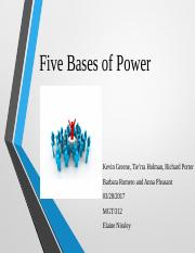 Five Bases of Power_Team A Wk 4 -Edit (2).pptx
