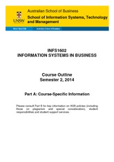 INFS1602_ Information_Systems_in_Business_S22014