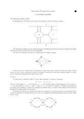 Eulerian Graphs Study Guide