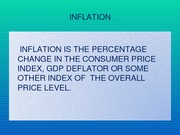 Lecture Slides over Inflation