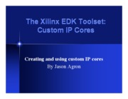 Edk_customCores