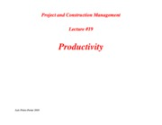 PCM-Lecture19-Productivity