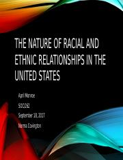 April_Monroe_soc262_The Nature of Racial and Ethnic Relationships.pptx