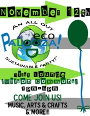 Official EcoPalooza Poster