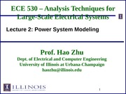 ECE530 Fall 2014 Lecture Slides 2