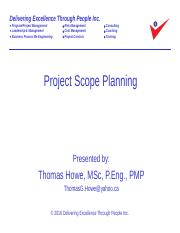 3_Project Scope Planning Revised 2016-09-09
