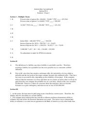 BACC3111 test1 spring 2014 Solution