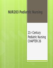 Peds ch 26-28 PP