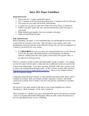 Paper guidelines- Spring 2014 (1).docx