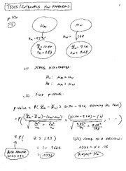 Hypothesis Test Solutions 2007 Ma 382