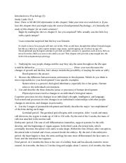 Study Guide chapter 8