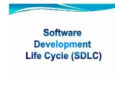 2 SDLC and Process_Models