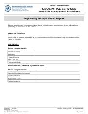 DOCS_AND_FILES-2217335-v7-Survey_Standard_-_Engineering_-_Engineering_Surveys_Project_Report.DOC