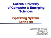 Lec22-POSIX Threads