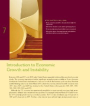 Chapter 7  Introduction to Economic Growth and Instability