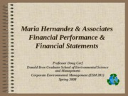 Maria Hernandez and Associates