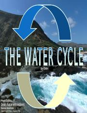 The Water Cycle -- 4th grade science