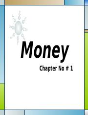 Money-Chapter 1