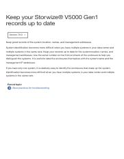 IBM Knowledge Center - Keep your Storwize V5000 Gen1 records up to date.pdf