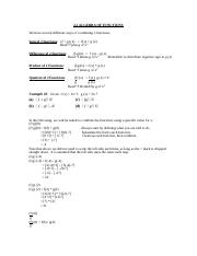 2.2 notes Algebra of Functions.doc