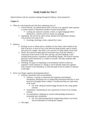 PSYCH 1000_Study Guide 2