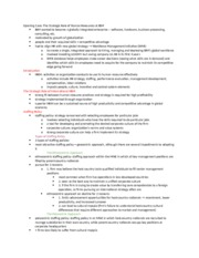 Ch.17 Global Human Resource Management Notes