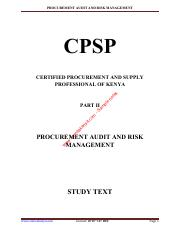 Procurement Audit and Risk Management - Sample.pdf