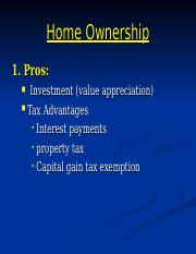 RE12-Home Ownership.ppt